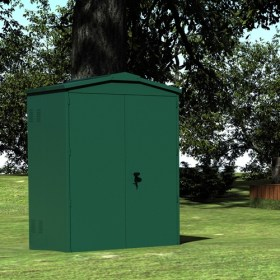 SM Garden Sheds Sapphire 5x4 Metal Shed - Anthracite Resale