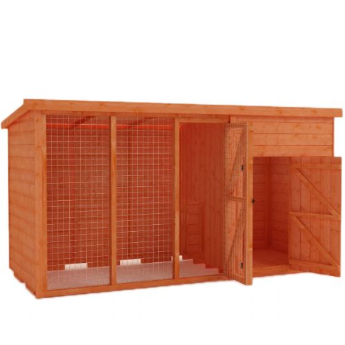 Woodlands Animal Pent House 4x4 (excluding run)
