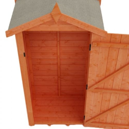 Woodlands Tool Tower Shiplap 3x3 Wooden Shed