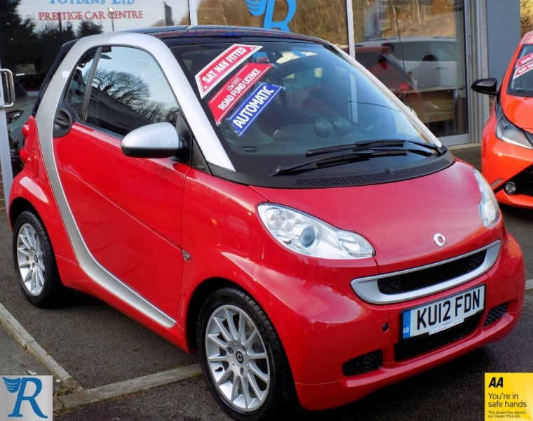 Used Smart Car Fortwo Coupe for Sale   Kent