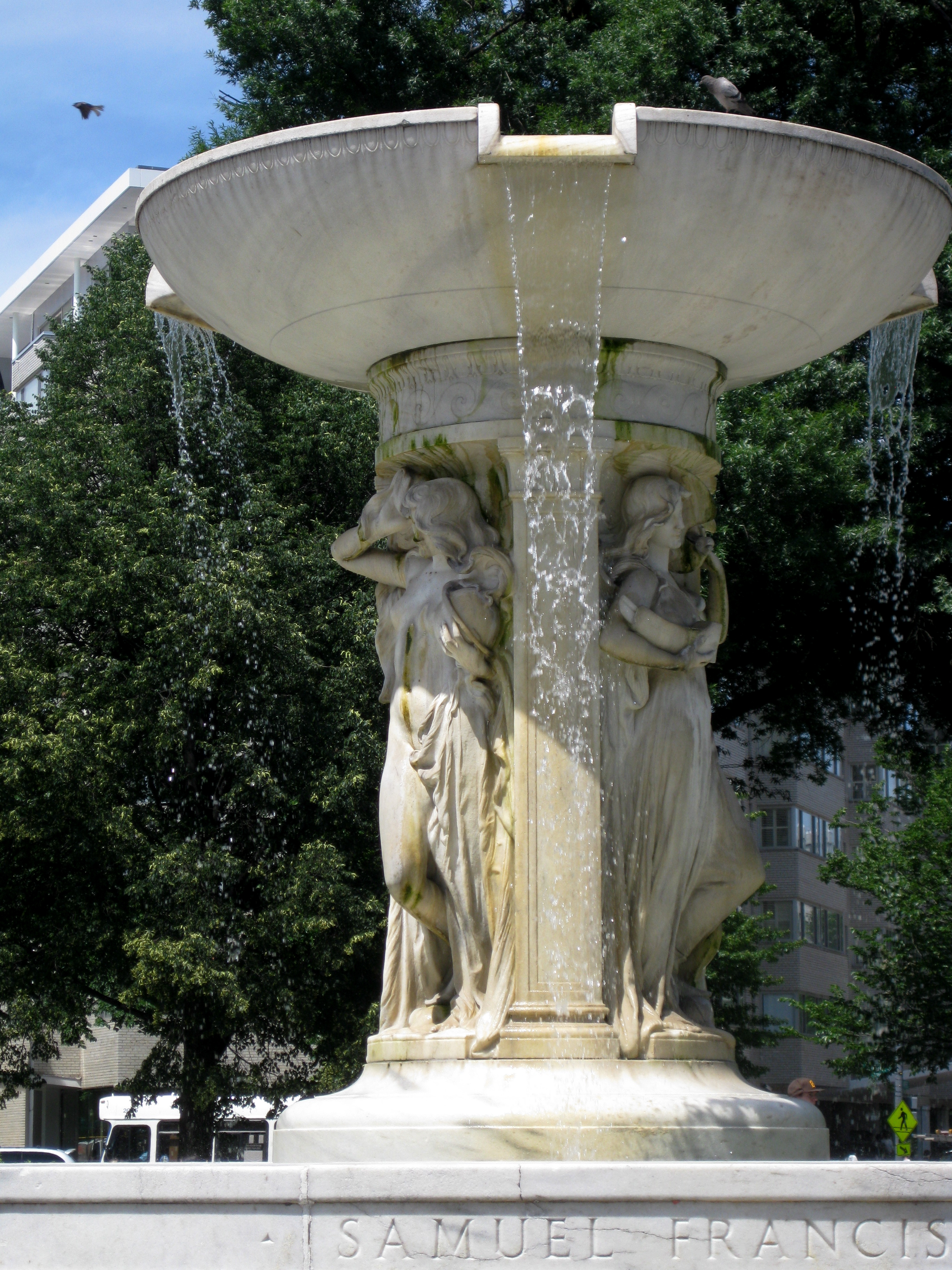 June 1: I took a late lunch on Monday and ate in Dupont Circle.