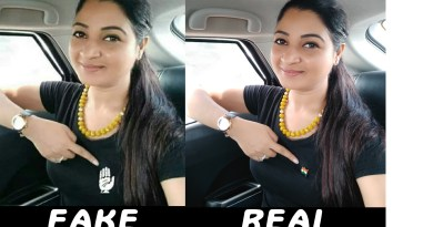 An edited photo of Alka Lamba is made viral by perverts using sick humor.