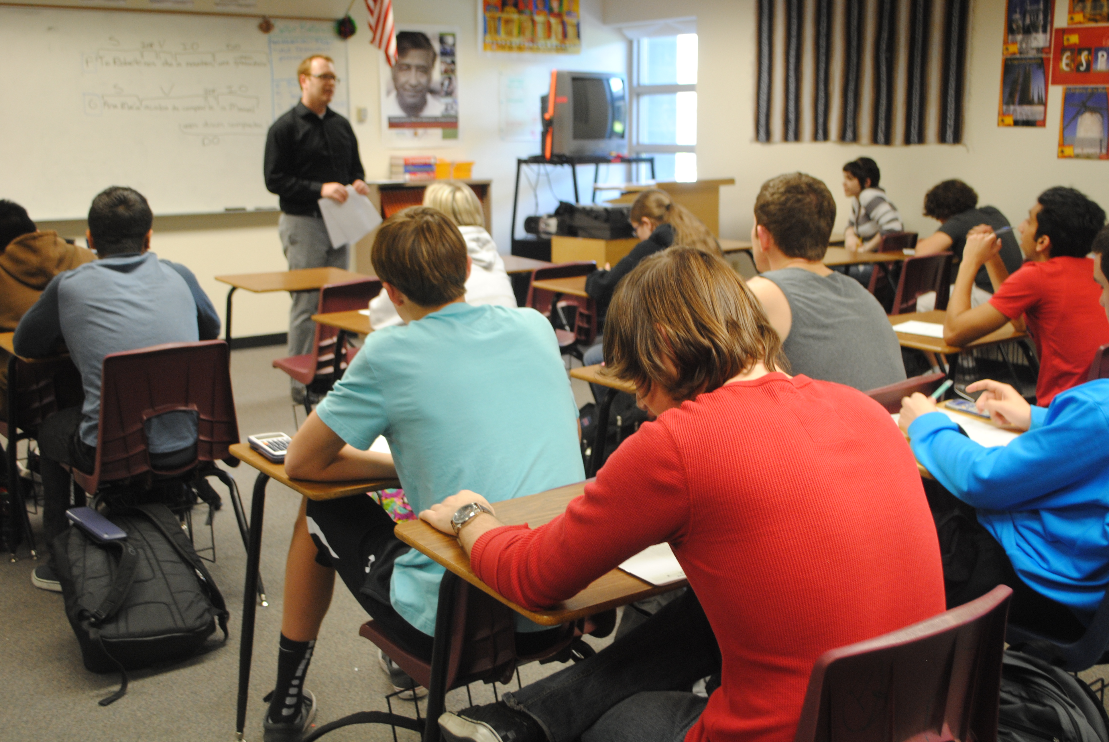 Students Ready For Upcoming Act Test