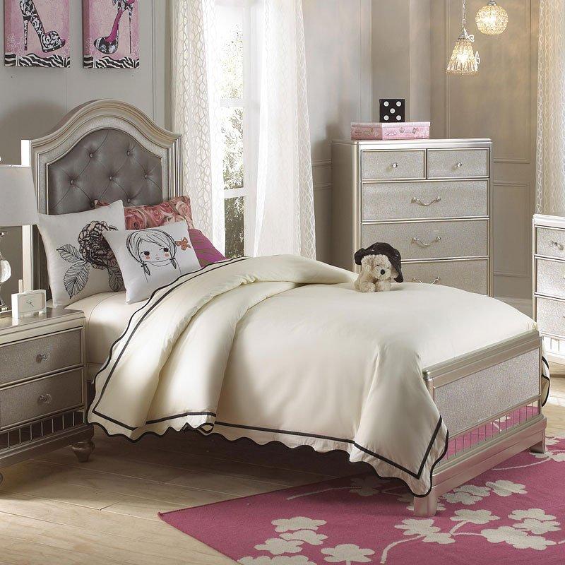 lil diva panel bed