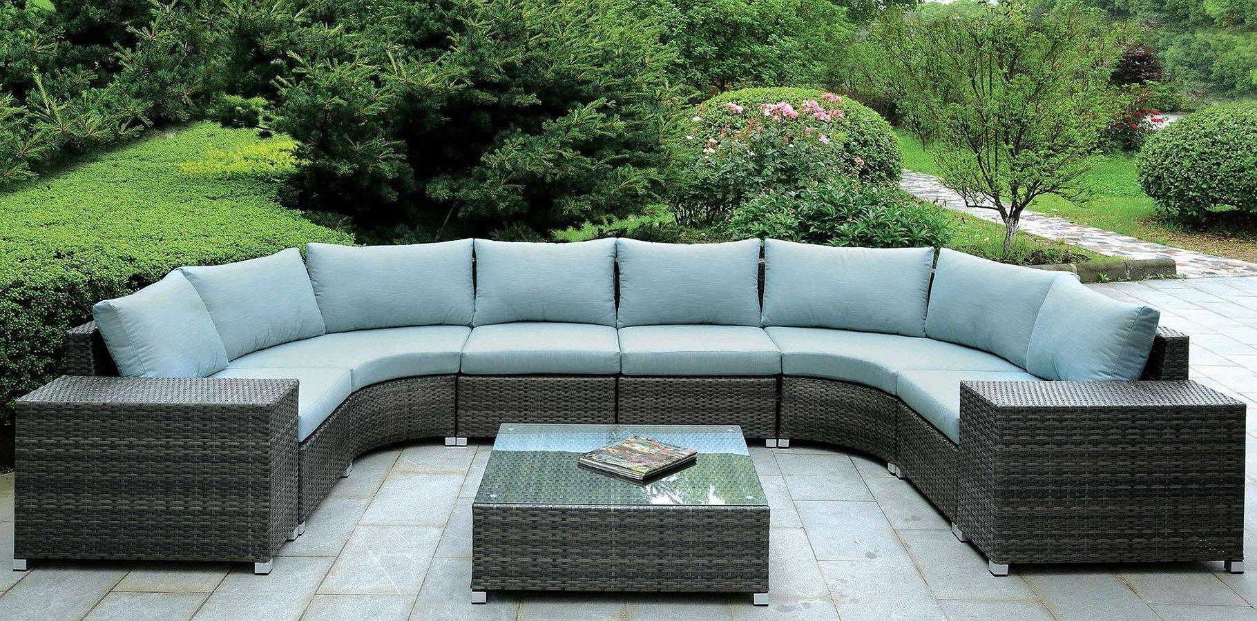 morgana outdoor u shaped sectional set