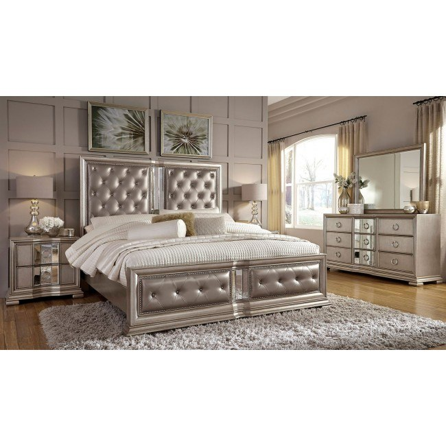 couture panel bedroom set