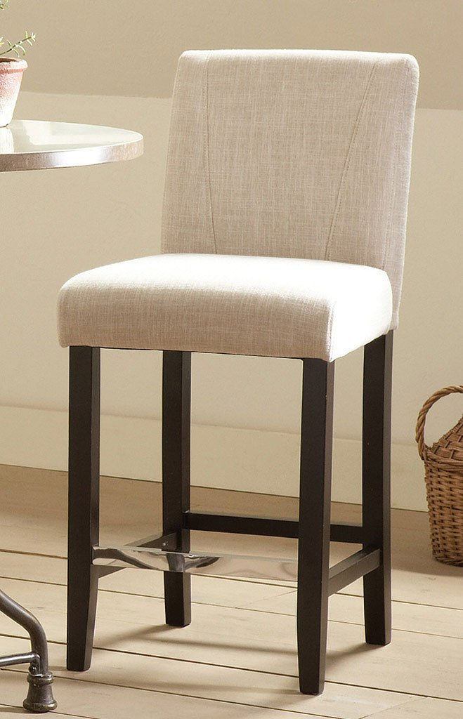 Commercial Grade Counter Height Stool Ivory Set Of 2 Dining Room And Kitchen Furniture