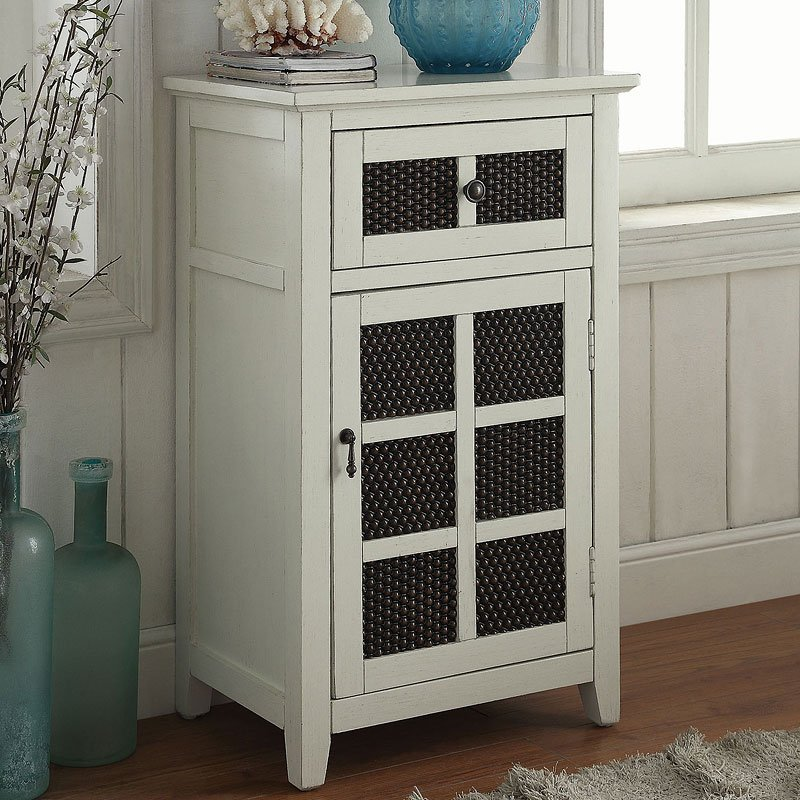 Accent Cabinet Antique White Accent Chests And