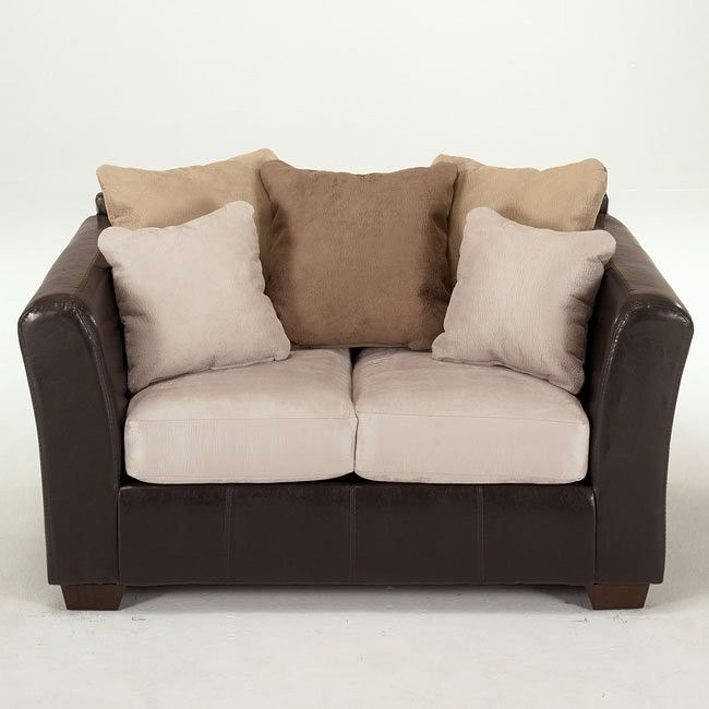 logan stone loveseat