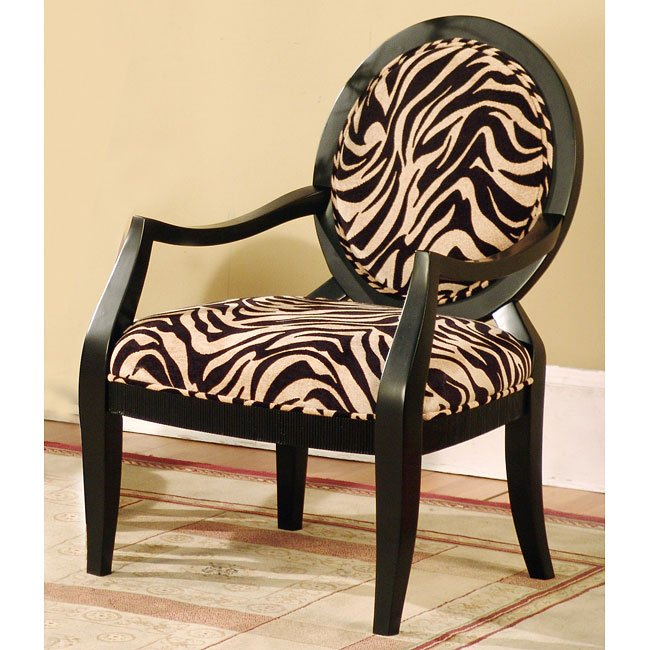 Animal Print Accent Chair By World Imports FurniturePick