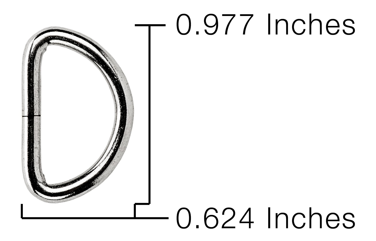 Buy 3 4 Inch Light Weight Non Welded D Rings Online