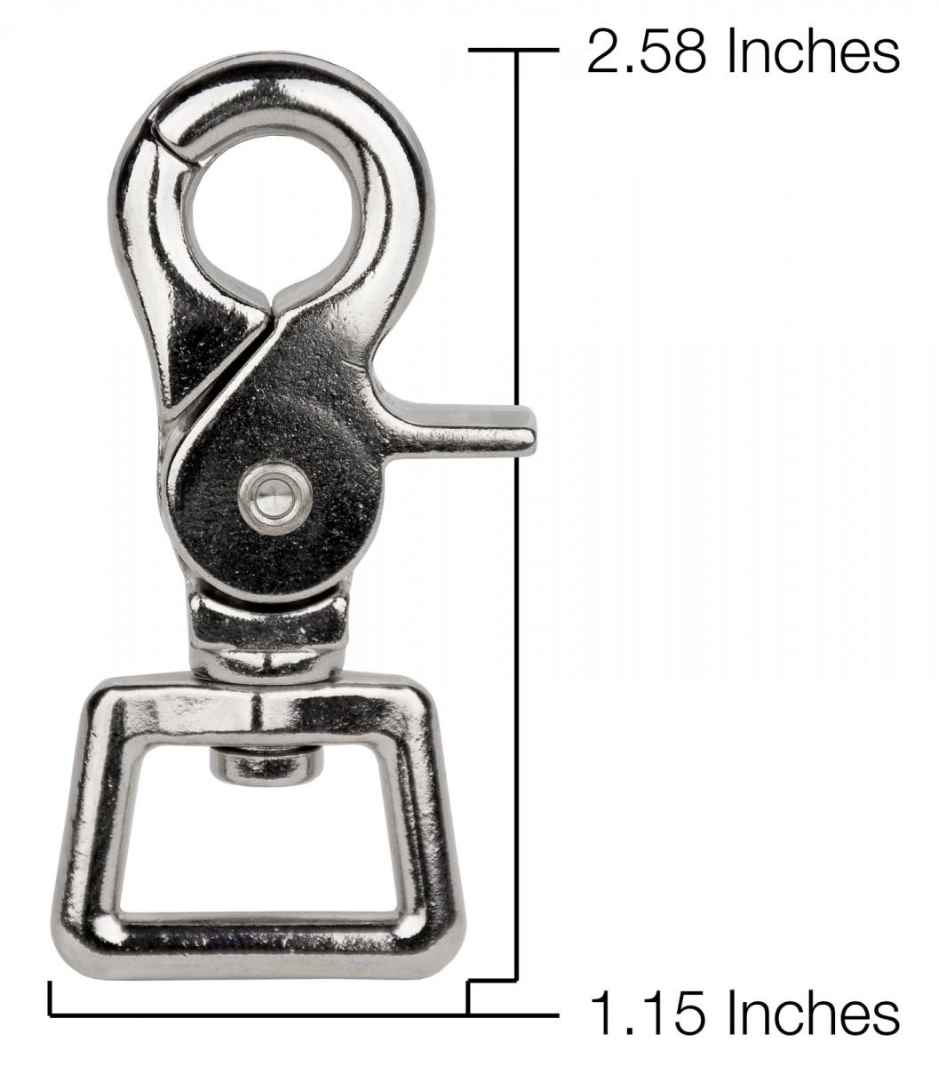 Buy 3 4 Inch Trigger Swivel Snap Hooks Online