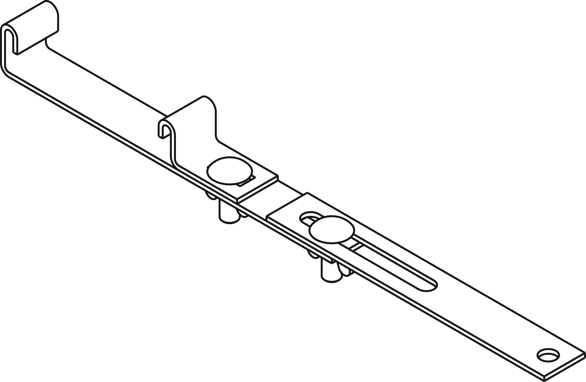 J 2 Lower Engine Support Bar Tool