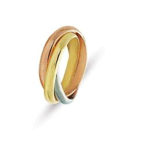 Rolling Ring Wedding Band McCaskill Amp Company Destin FL