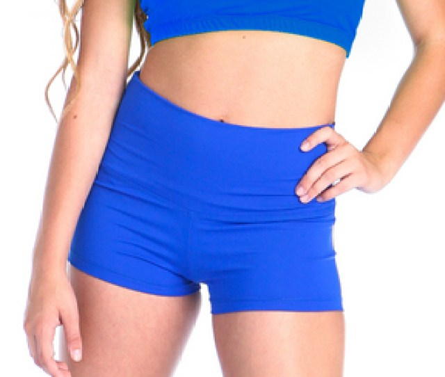 View Product Gia Mia Solid High Waist Short