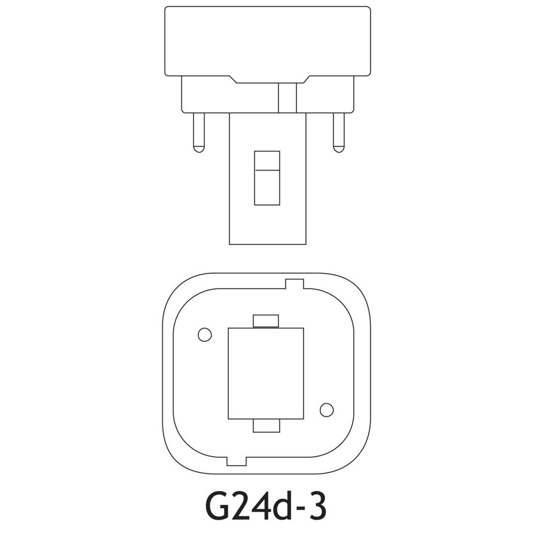 Sylvania Cf26dd 827 Eco 26 Watt T4 Quad Tube Cfl K 82 Cr