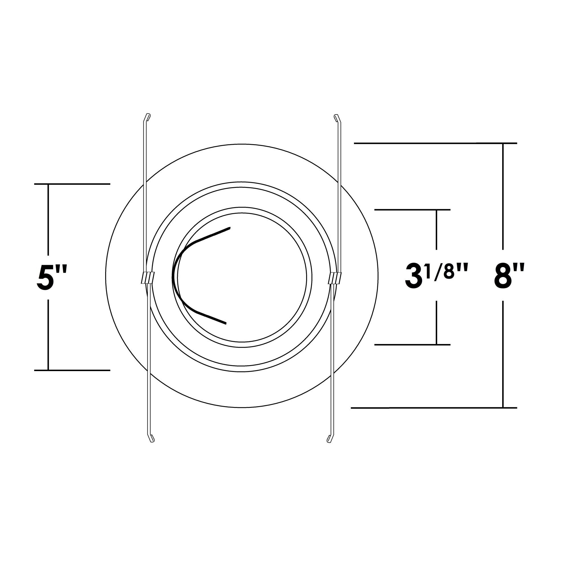 Nicor Ob 6 Inch Gimbal Ring
