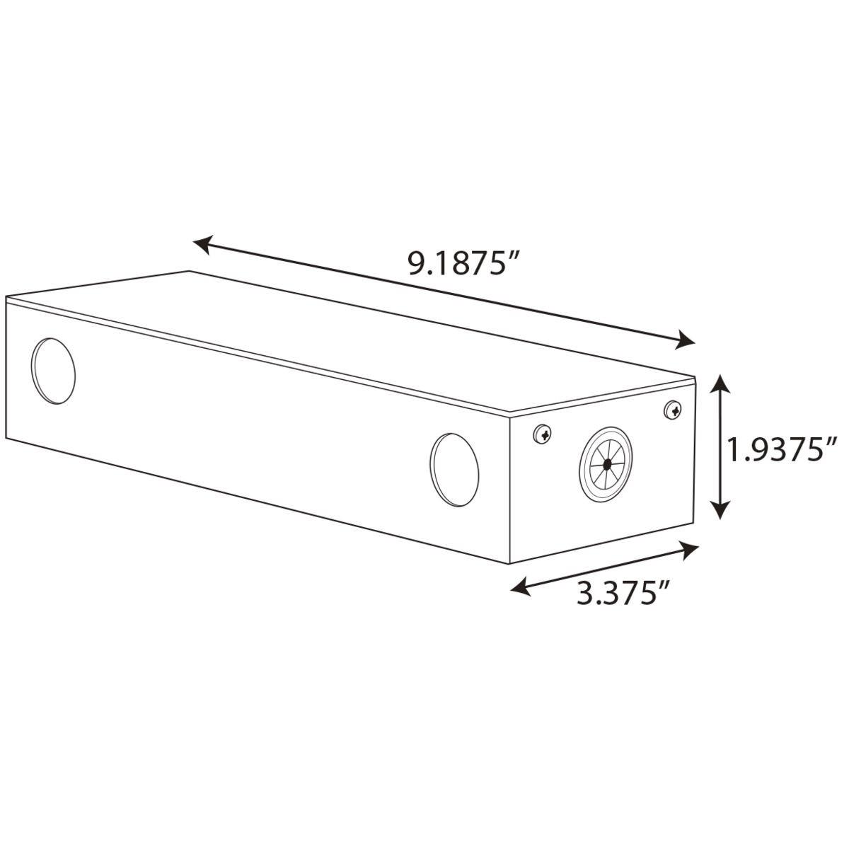 Progress Lighting Hide A Lite Led Tape 24v Power Supply