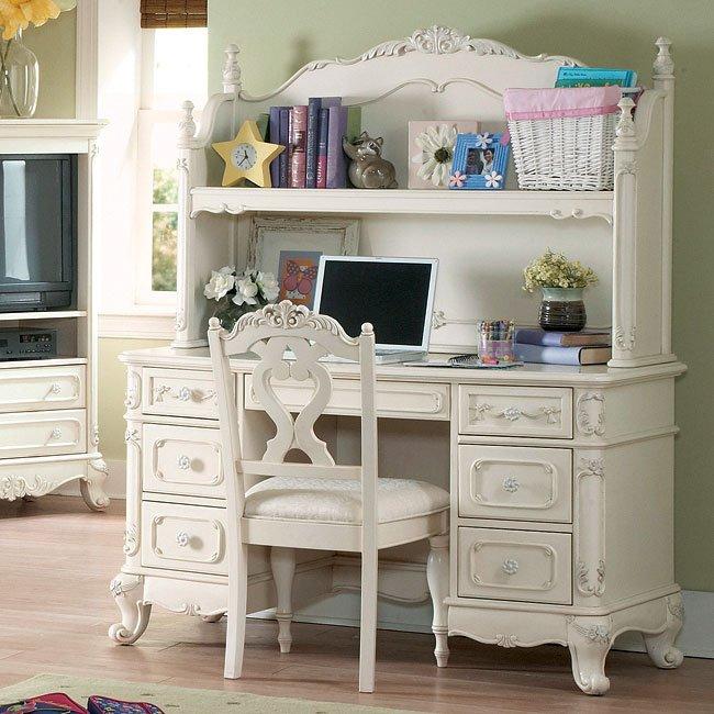 cinderella writing desk with hutch