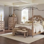 Ilana Canopy Bedroom Set Coaster Furniture 1 Reviews Furniture Cart