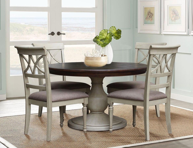 brockton round dining room set