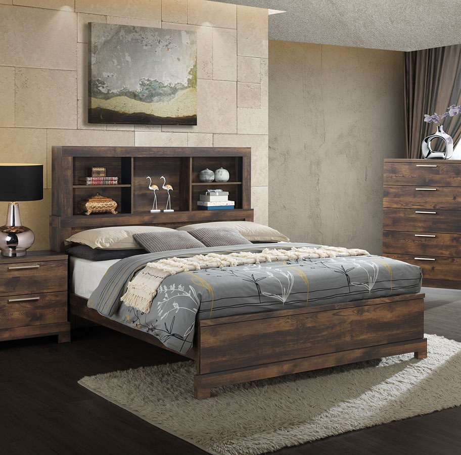 campbell bookcase bedroom set