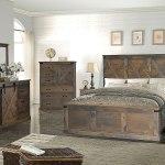 Farmhouse Panel Bedroom Set Barnwood Legends Furniture Furniture Cart