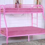 G0017 Twin Over Full Bunk Bed Pink Glory Furniture Furniture Cart