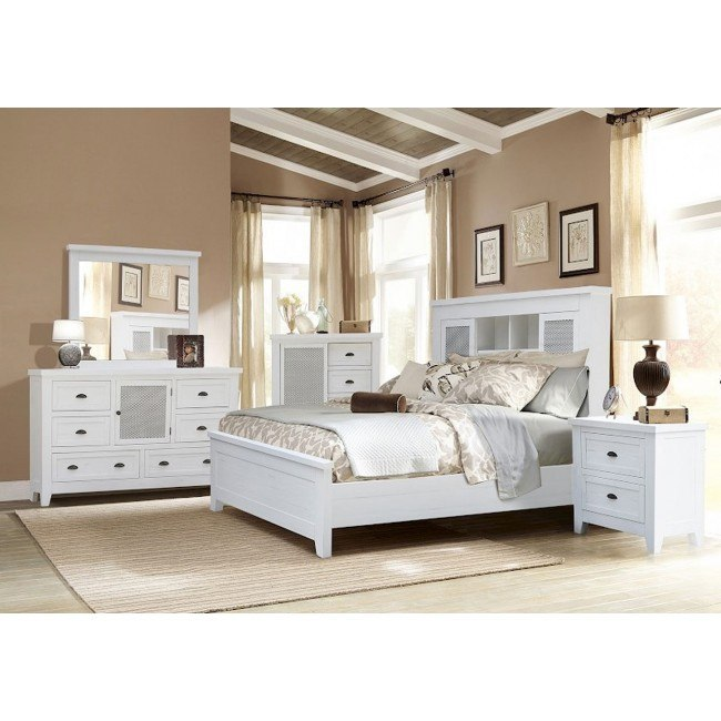 brookfield bookcase bedroom set vintage white