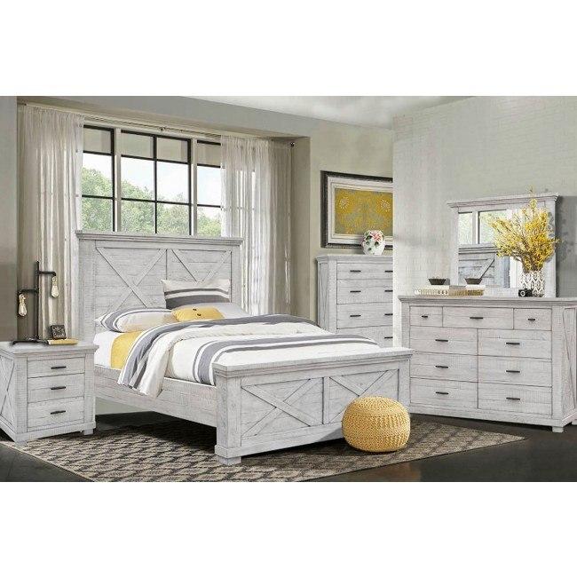 crossing lakes panel bedroom set