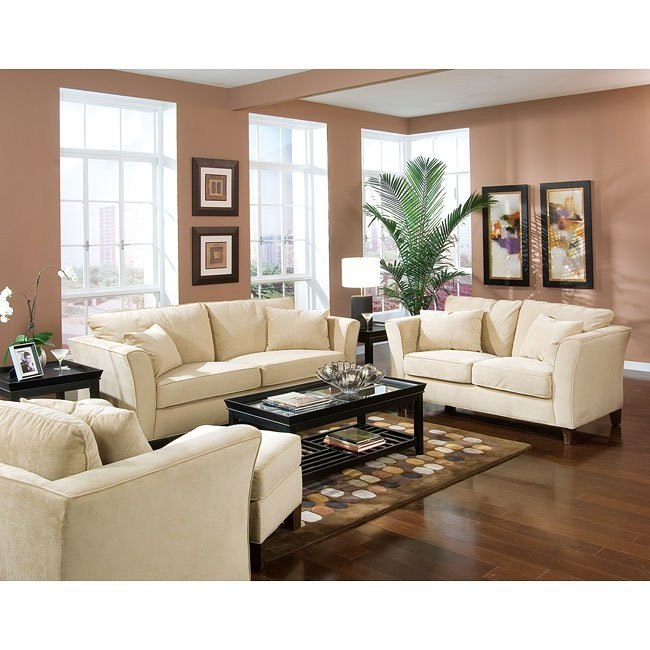 Park Place Cream Living Room Set Coaster Furniture Furniture Cart