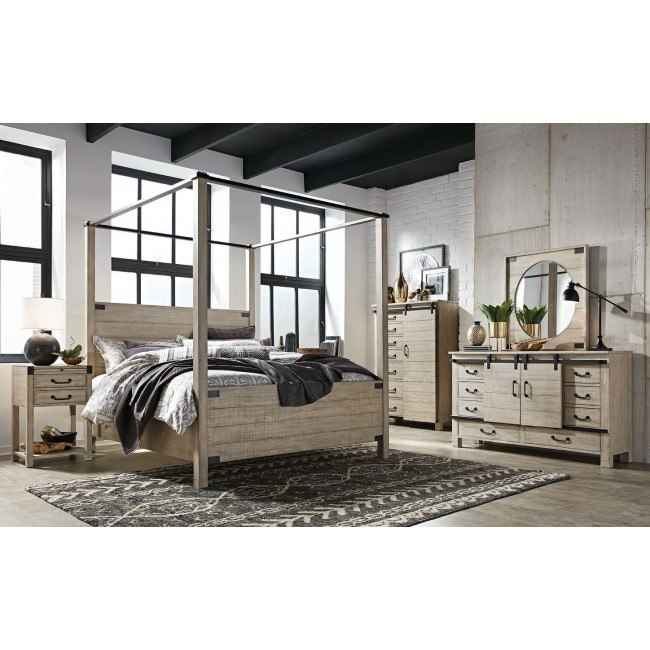 radcliffe canopy bedroom set