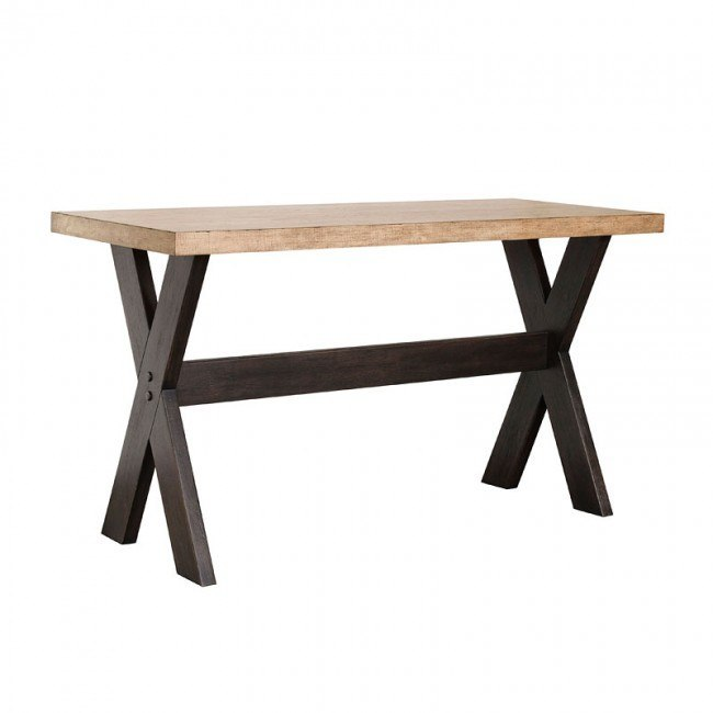 the art of dining narrow bar height table