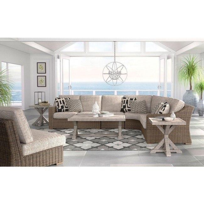 beachcroft outdoor modular sectional set