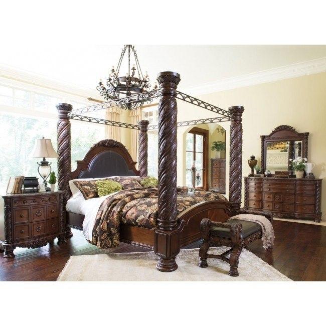 north shore canopy bedroom set