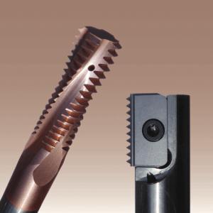 Olika verktyg för gängfräsning från SmiCut