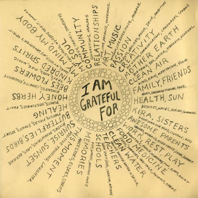 Mandala-Gratitude