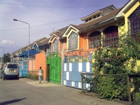 Un compound a Nairobi