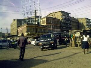 Traffico assurdo in città, Nairobi