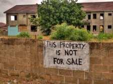 Proprietà non in vendita