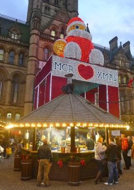 Manchester celebra il Natale