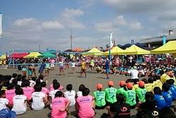 ビーチバレー会場の様子20160813,14.jpg