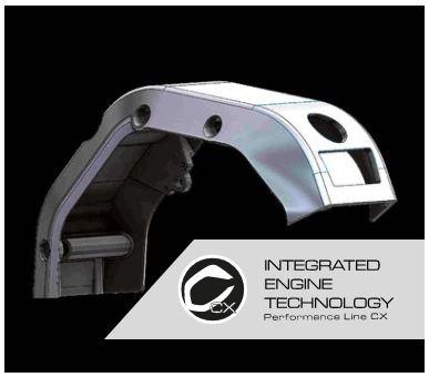 integrált motor technológia