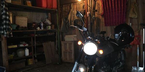 晴跨雨弄 今更バイクに乗る