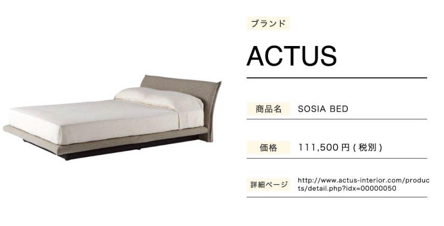 あなたのことはそれほどのベッドSOSIABED