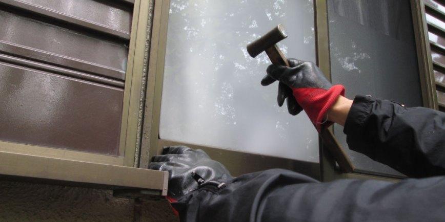窓サッシの雨漏り修理