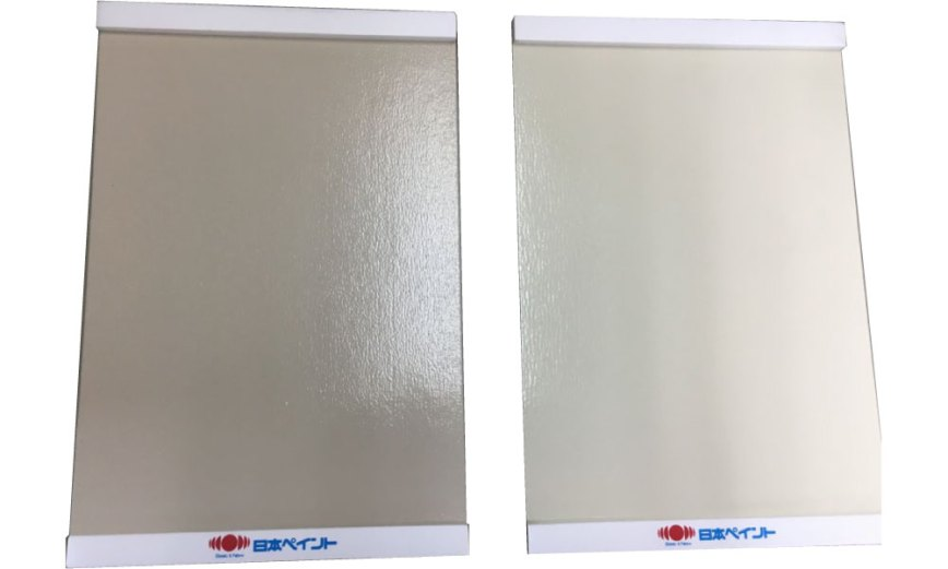 外壁塗装の塗り板サンプル
