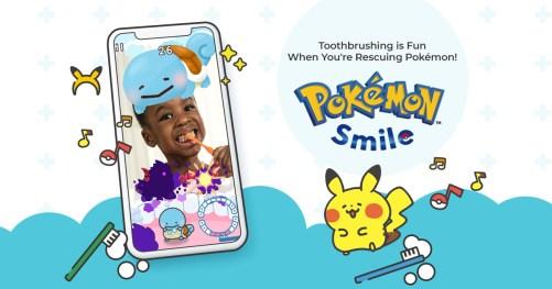 Ad for Pokémon Smile
