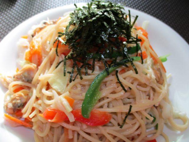 明太子スパゲティー