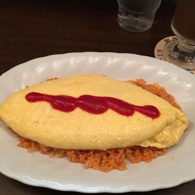 卵のせオムライス